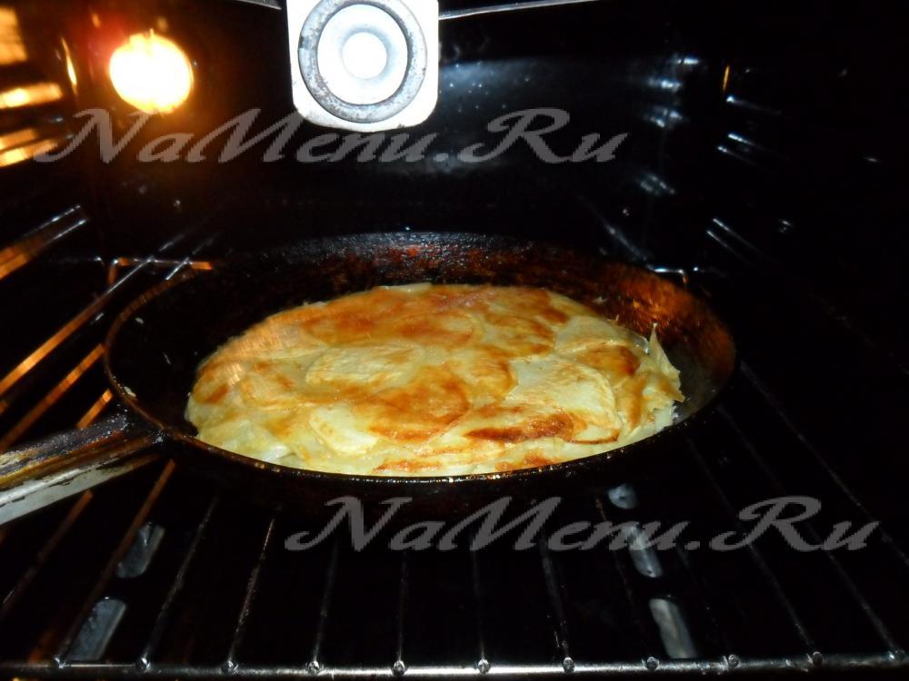 запеканка из картошки с колбасой в духовке рецепт