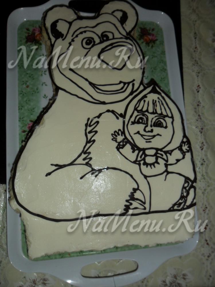 медведь детский рисунок фото