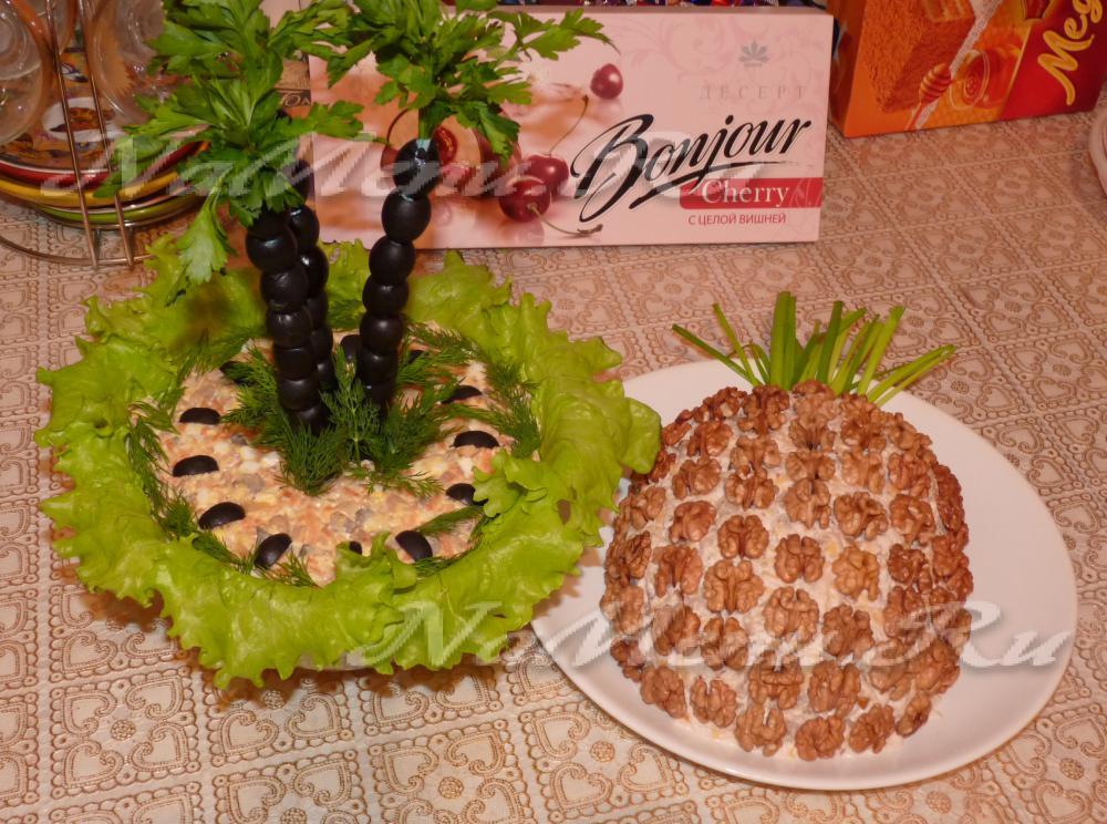 Салат ананас в домашних условиях 874