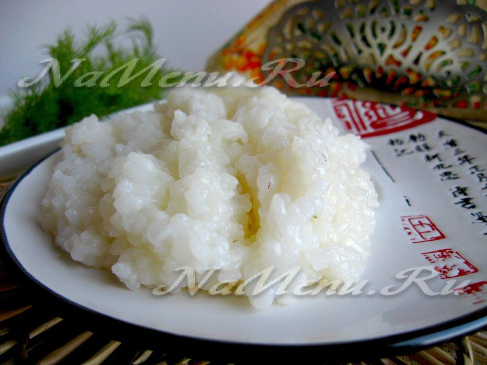 Готовить рис рецепт фото
