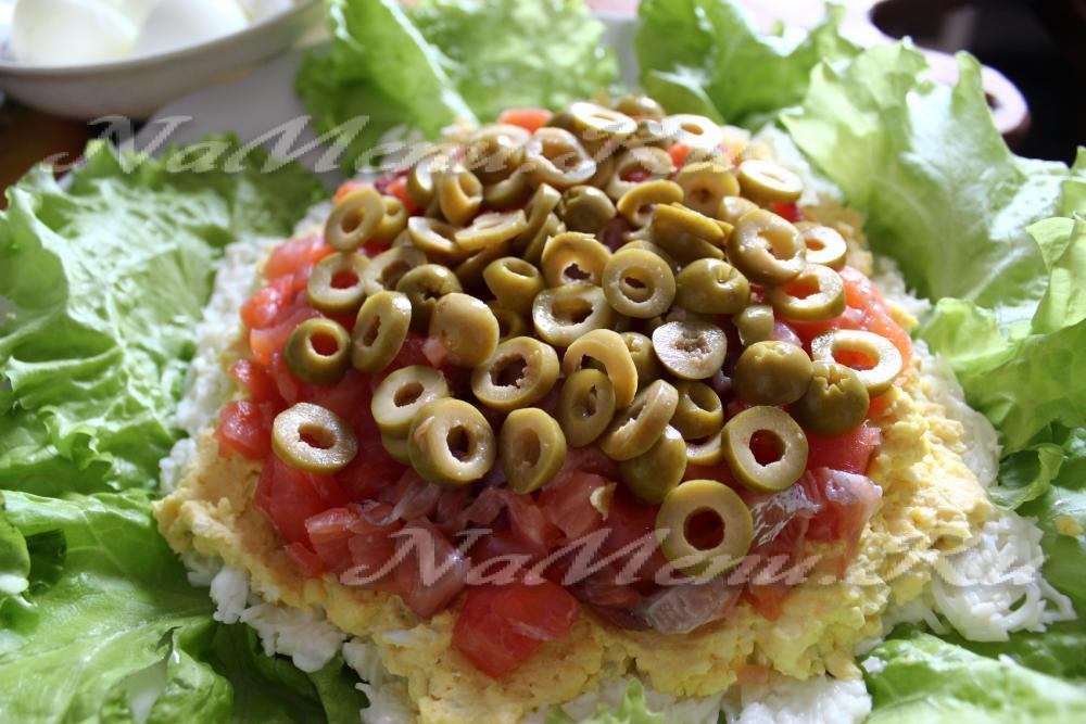 салат жемчужина с красной рыбой пошаговый рецепт