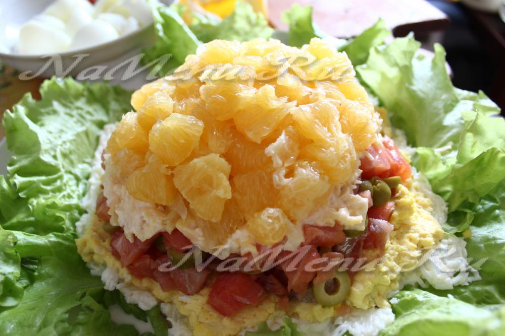 Рецепт с салата жемчужина