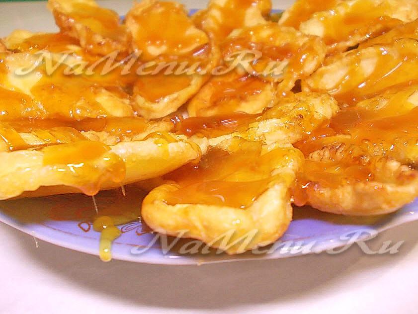 Дольки яблок в карамели рецепт в домашних условиях 596
