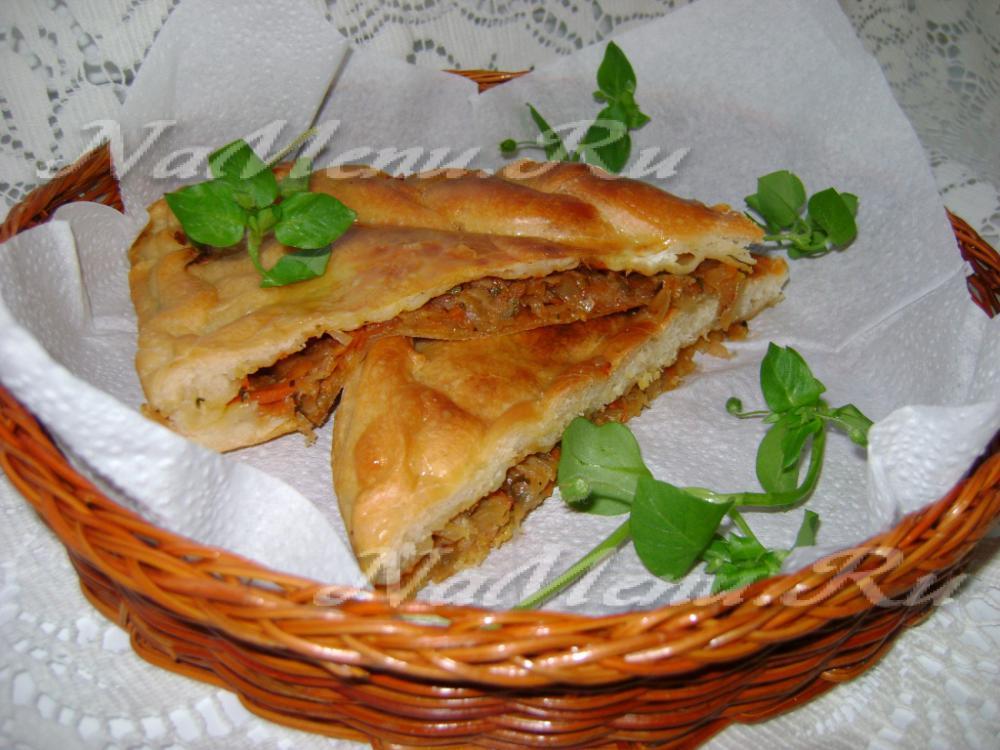 Вкусный пирог из капусты рецепт с фото