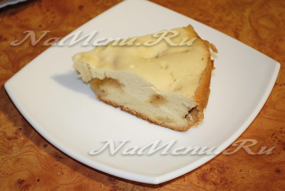 Пирог с яблоками и бананами в мультиварке рецепты с