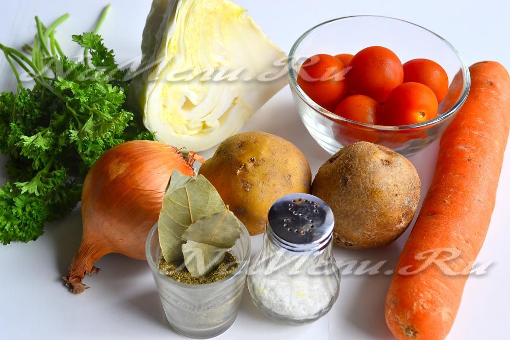 рецепты щей из свежей капусты с фото