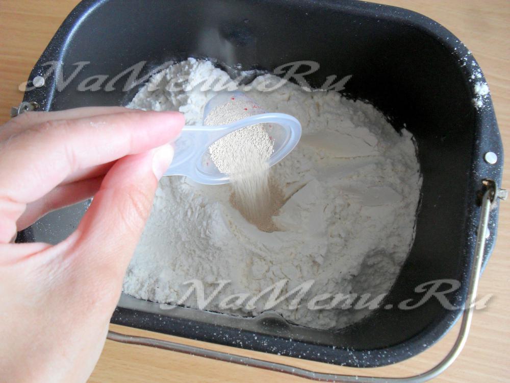 рецепт выпечки пшеничного хлеба в духовке