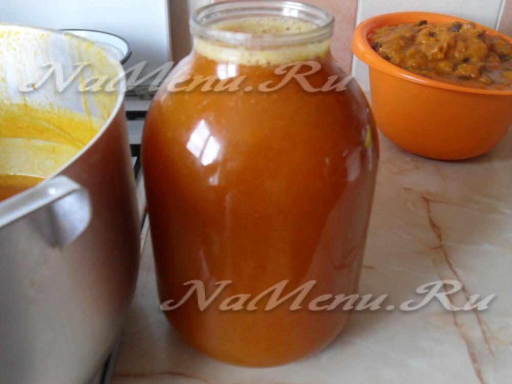Абрикосовый сок в домашних условиях рецепт 796