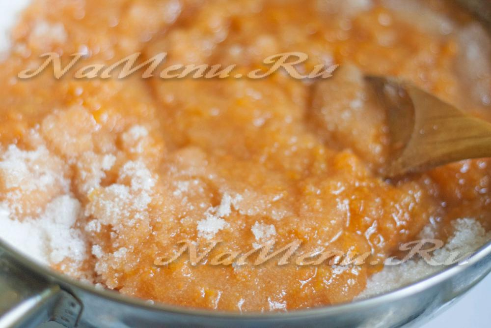 Абрикосовый джем через мясорубку рецепт с фото