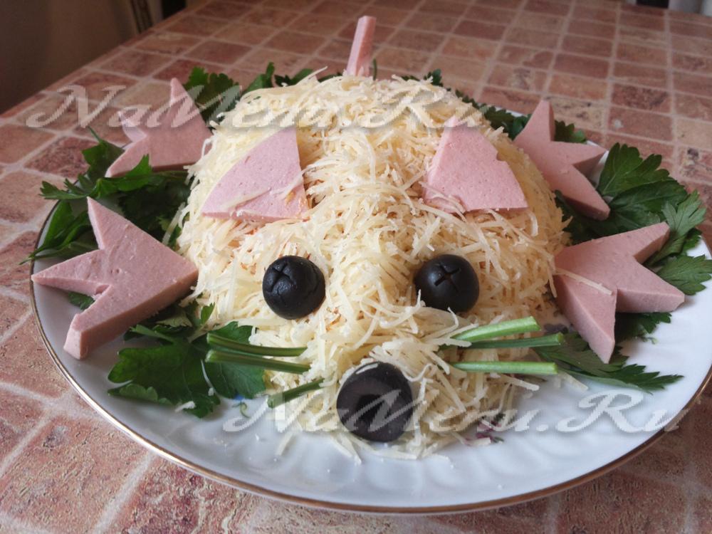 салат мыши фото рецепт