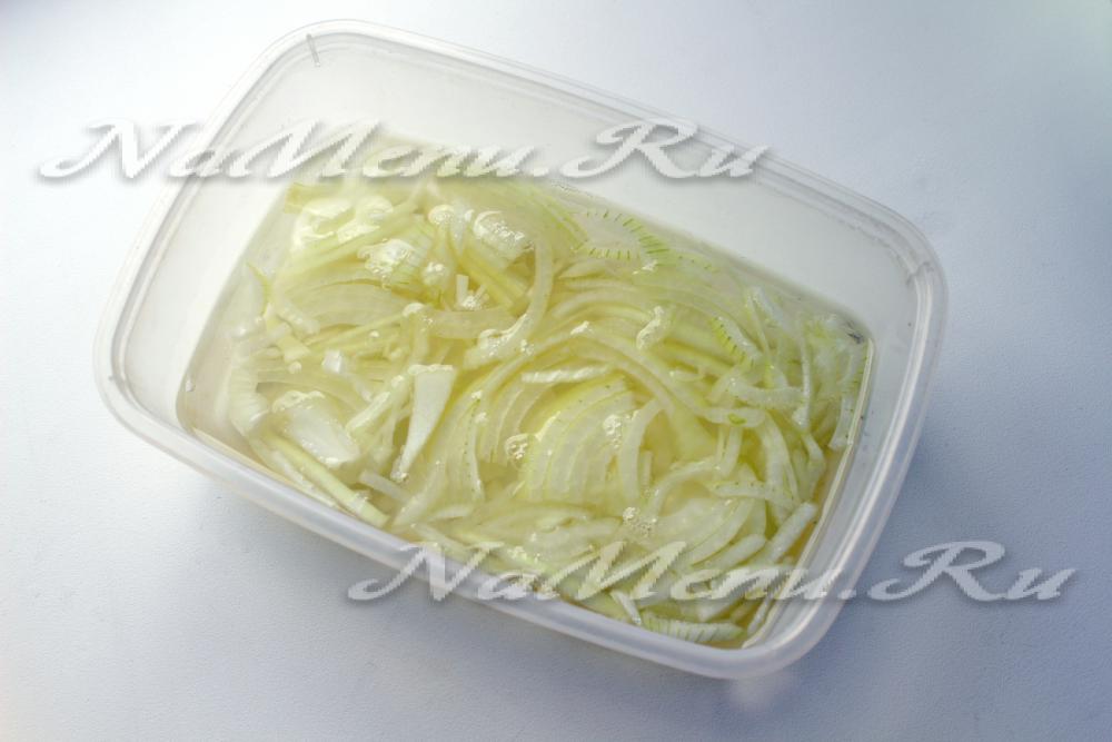 рецепт салата с гранатом и ананасом рецепт