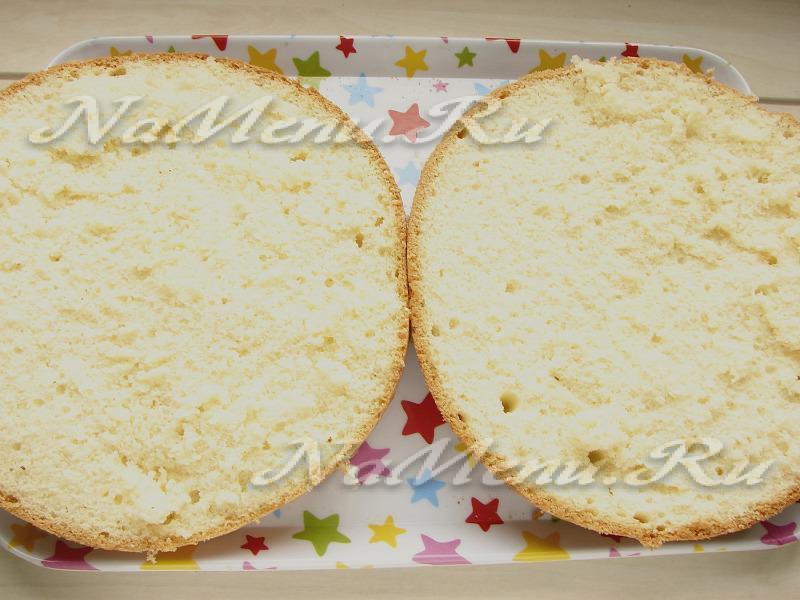 Торт из бисквита мультиварка