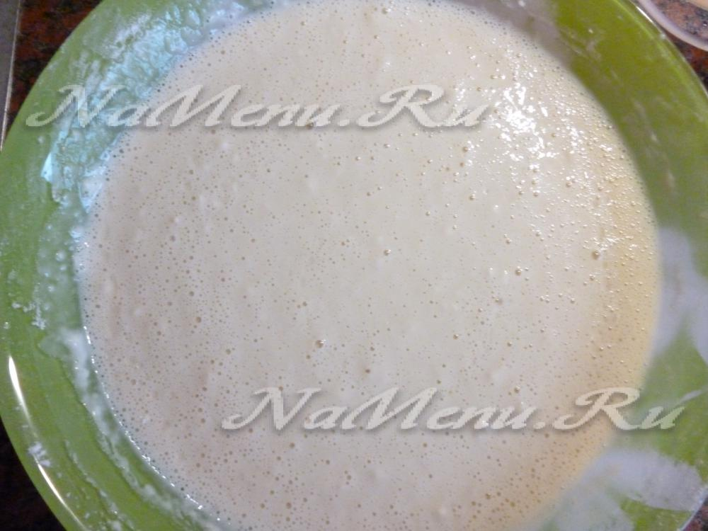 Рецепт тонких блинов на молоке и воде с фото пошагово