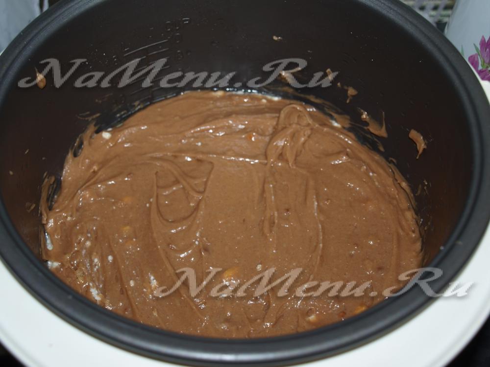 Творожный кекс шоколадный в мультиварке рецепты