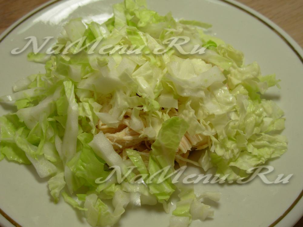 Салат березка фото капуста