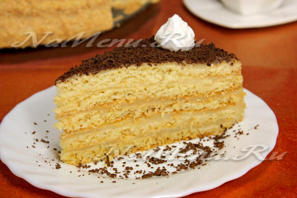 Песочный торт, рецепт
