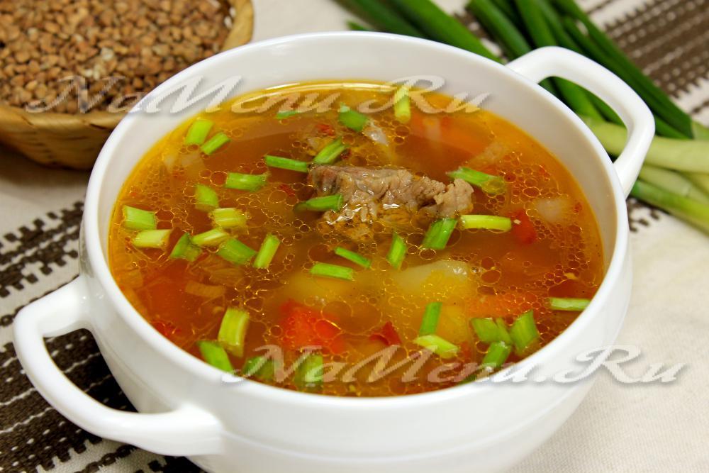 Как сделать суп с гречкой