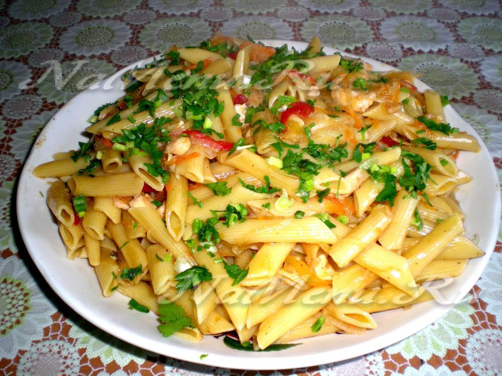 макароны с мясом в духовке с сыром рецепт
