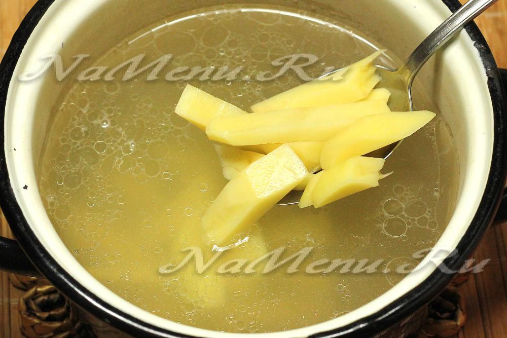 когда в суп класть капусту
