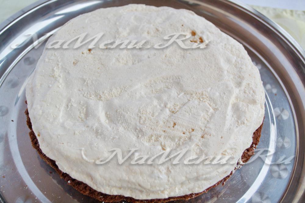 Бисквит с мастикой рецепт с фото