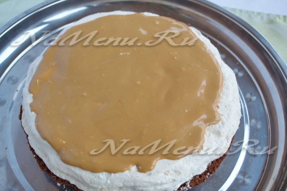 Торты с безе под мастику рецепт