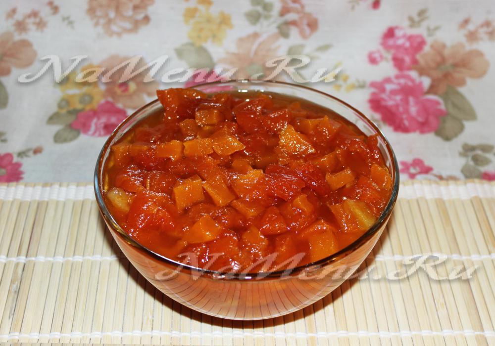 Рецепт тыква с яблоками в