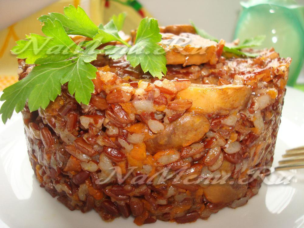 Красный рис в мультиварке рецепты с фото