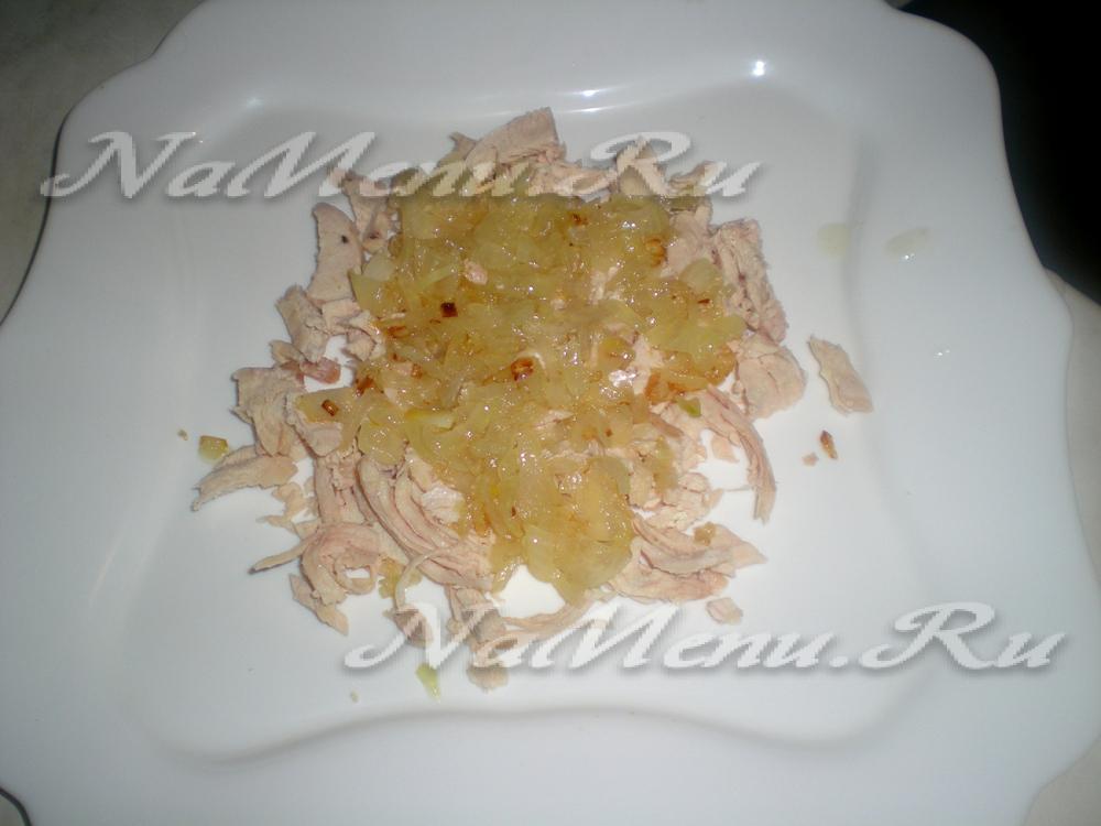 белая береза с яблоком рецепт салата