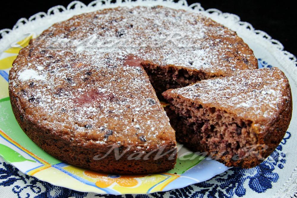 Сладкий пирог с вареньем на кефире в духовке рецепт с