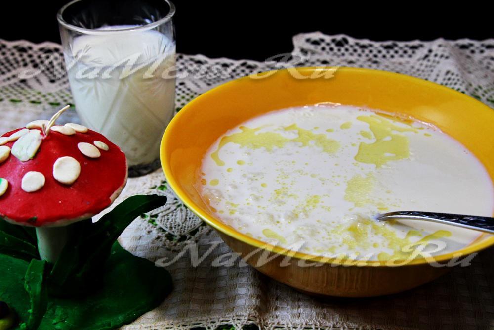 Молочный рисовый суп в мультиварке рецепты с фото