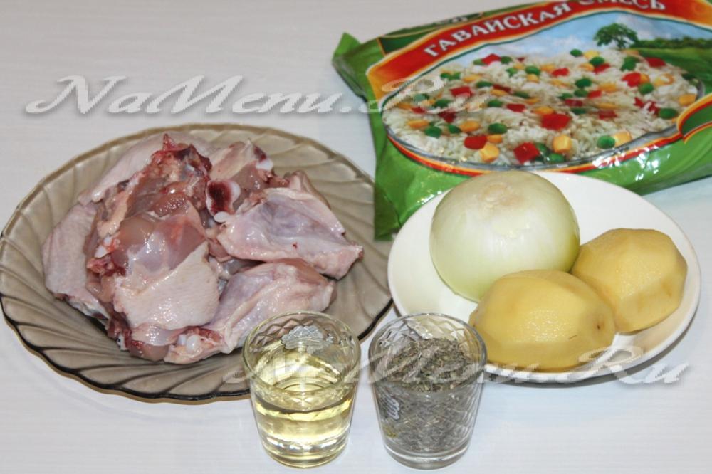 Куриный суп в мультиварке: рецепт с фото