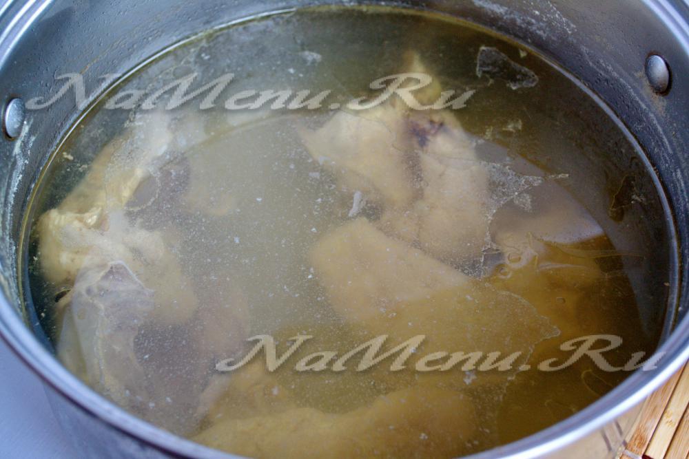 Как варить бульон из курицы чтобы был прозрачный