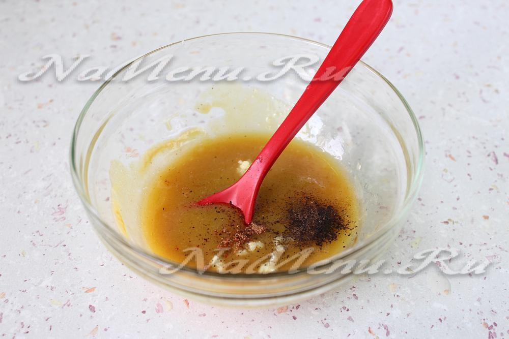 Как сделать горчично медовый соус
