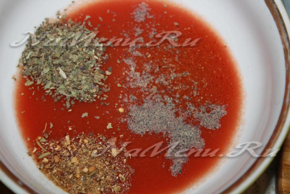 Как развести томатную пасту чтобы получить сок