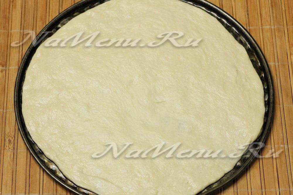 Как раскатать круглое тесто для пиццы
