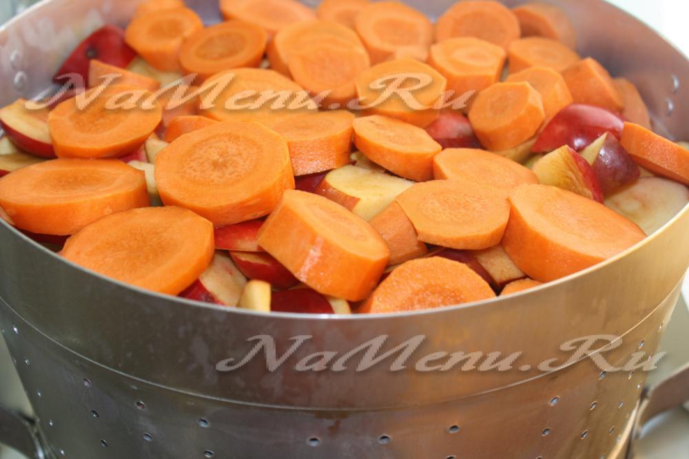 Яблочно-морковный сок на зиму в домашних условиях через соковыжималку 223