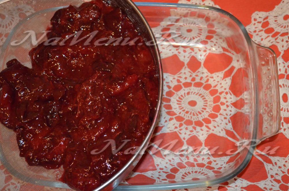 Ткемали из сливы рецепт классический с пошаговым