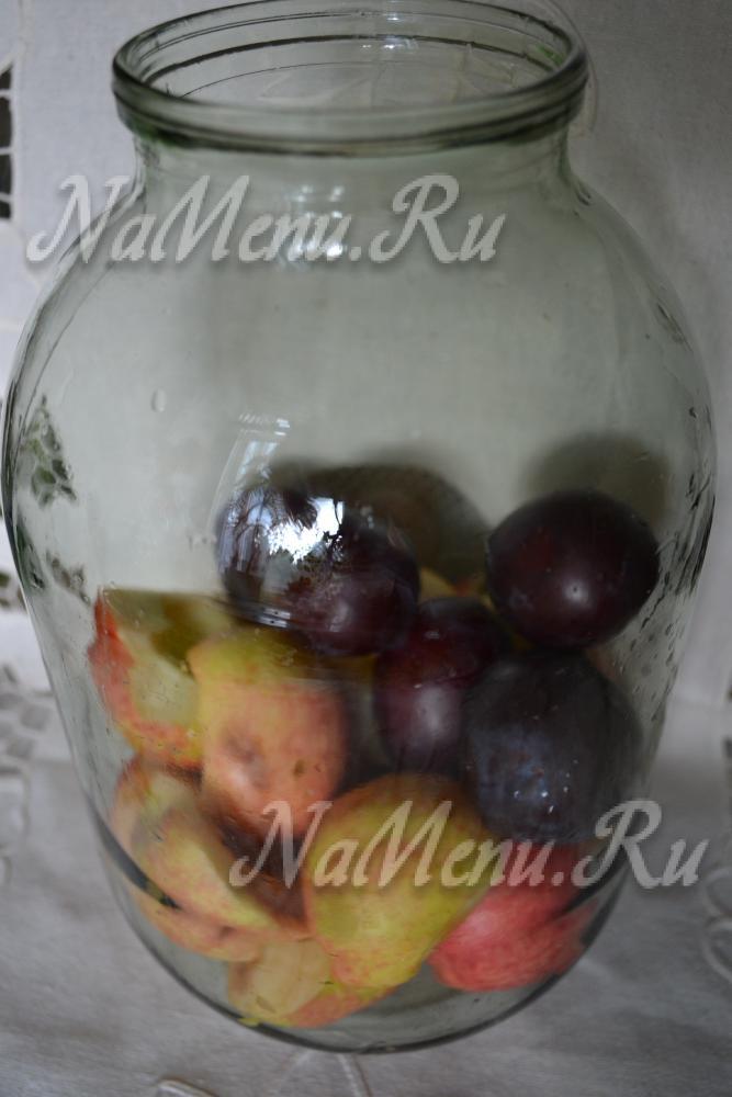 Как на зиму сделать компот из яблок на зиму без стерилизации