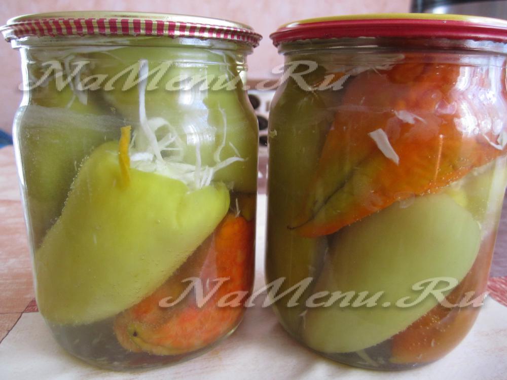 Болгарский перец для фаршировки на зиму рецепты