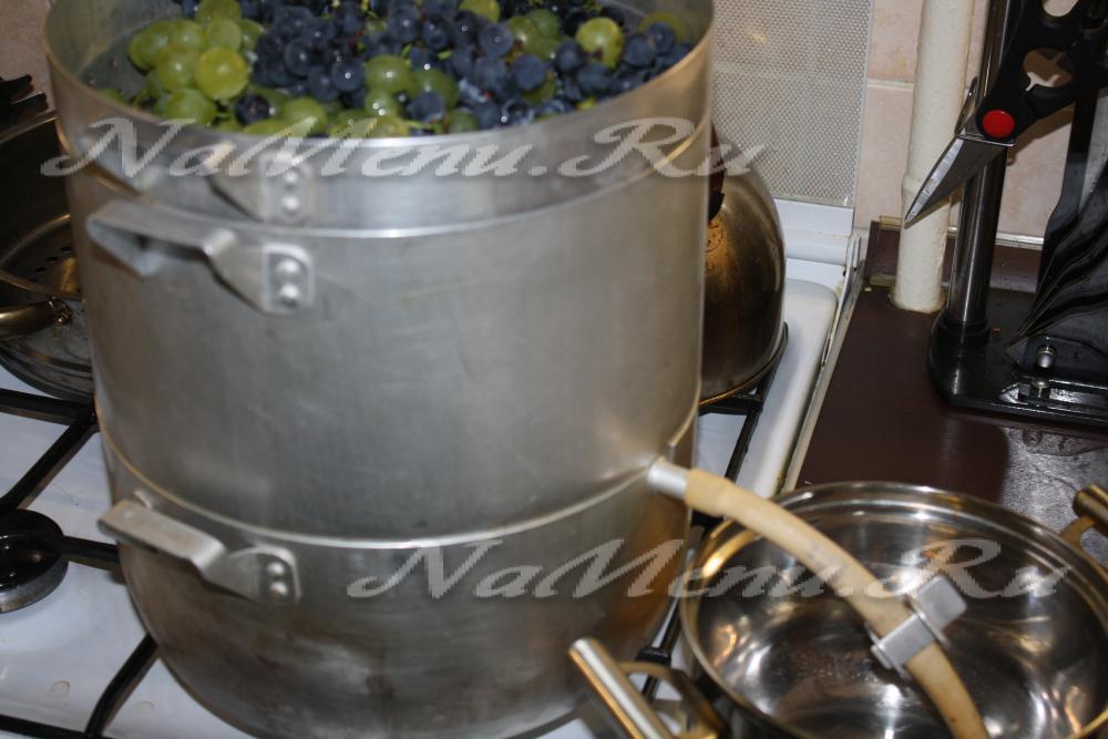 Виноград сок в домашних условиях 176