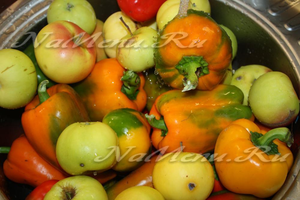 рецепт салата на зиму болгарский перец 2 кг