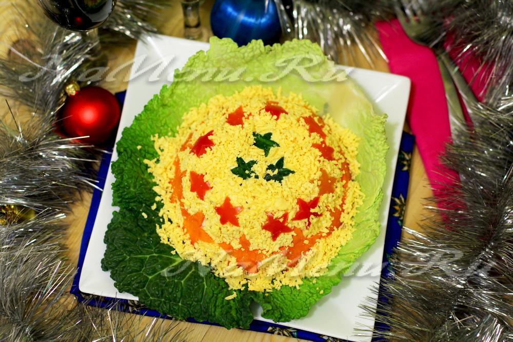 Новые салаты для праздничного стола с и рецептами