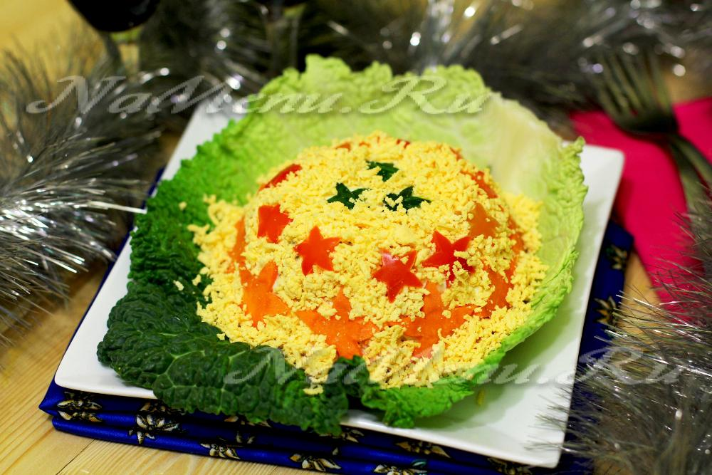Салат арбузная долька рецепт и