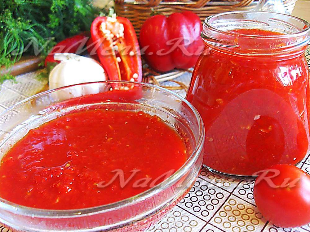 Соус из помидоров своими руками