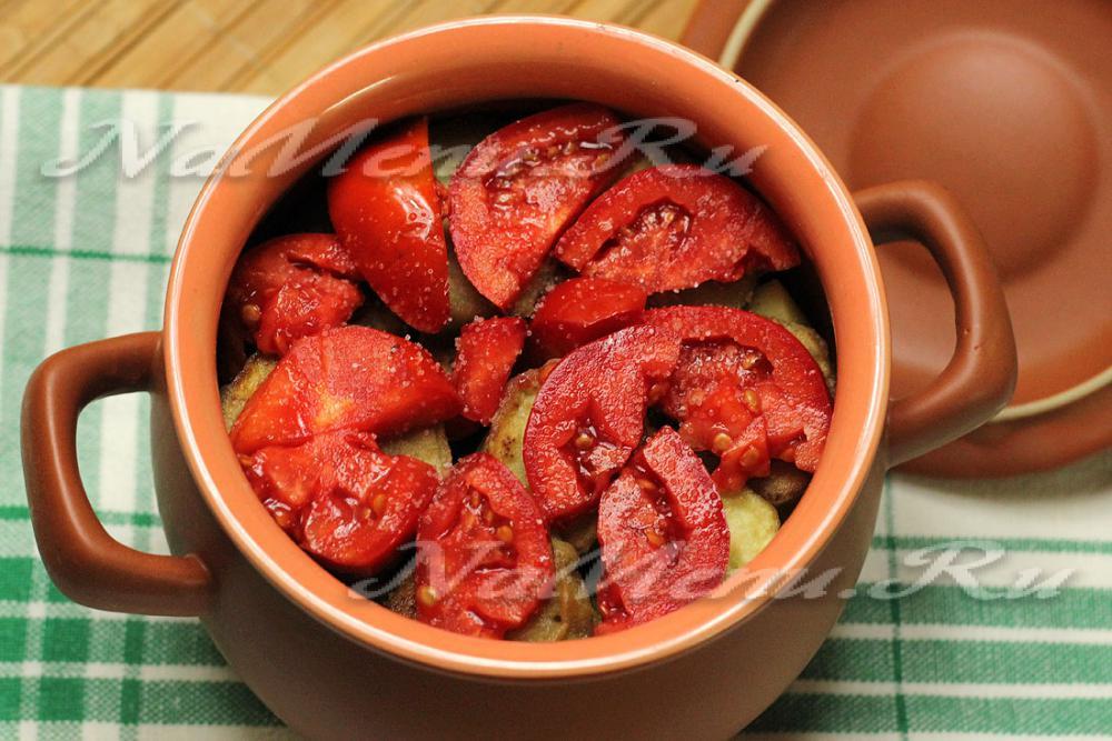 Овощное рагу в горшочках рецепт с фото