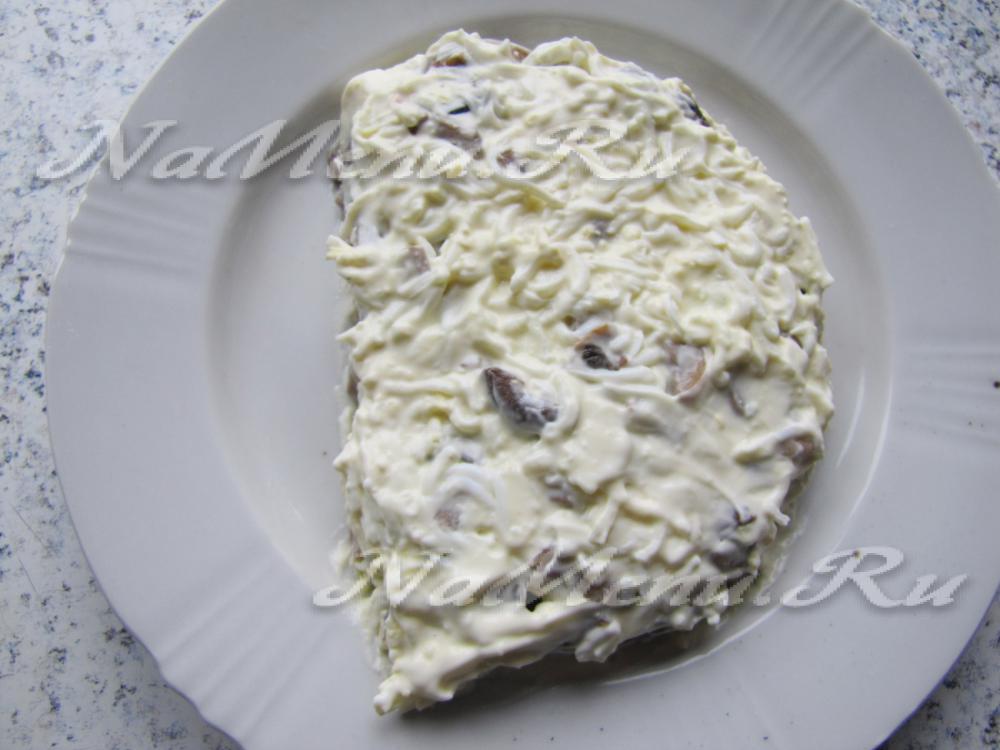 салат апельсиновая долька рецепт с фото пошагово в