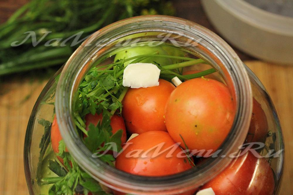 Рецепты приготовления хреновины из помидор на зиму