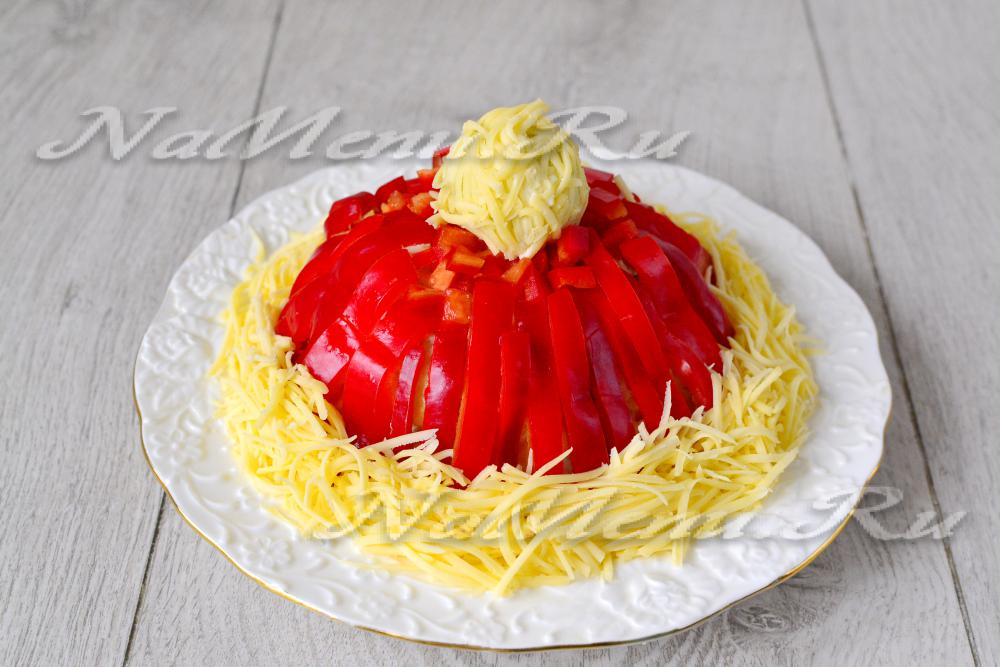 Красная шапочка рецепт с пошагово