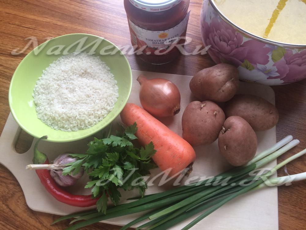 рецепты блюд суп харчо рецепт