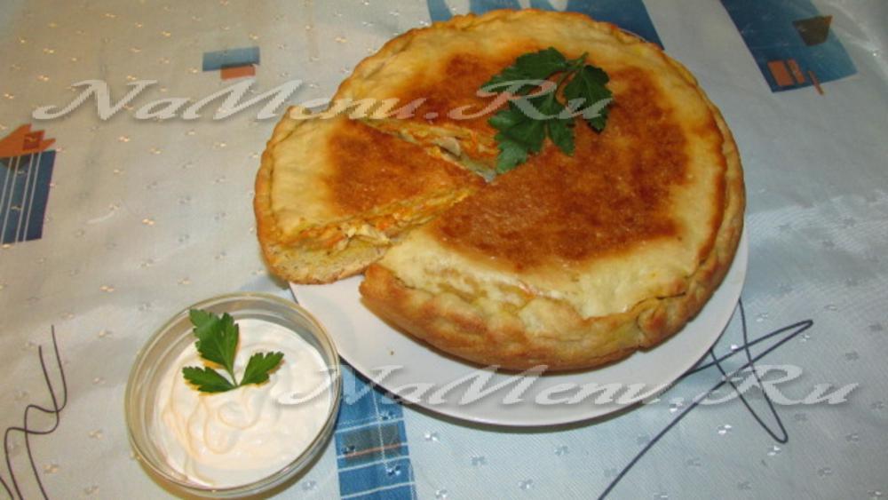 куриный пирог в мультиварке рецепты с фото